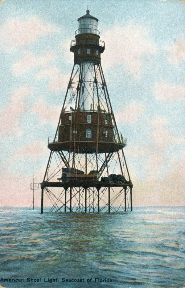 American Shoal Light ca. 1910